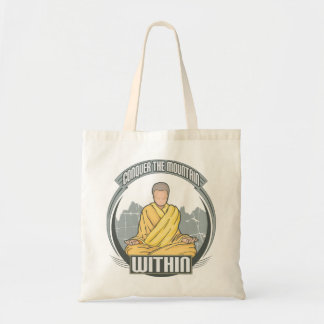 Conquer the Mountain Within Tote Bag