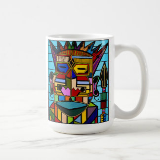 """""""Conquering and to Conquer"""" by Ruchell Alexander Coffee Mug"""