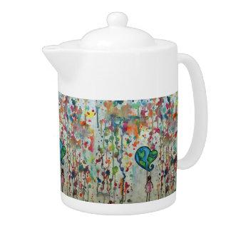 Conquering Chaos Tea Pot