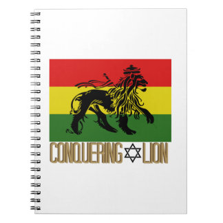Conquering Lion Note Book