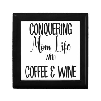 Conquering MomLife on Coffee & Wine Gift Box
