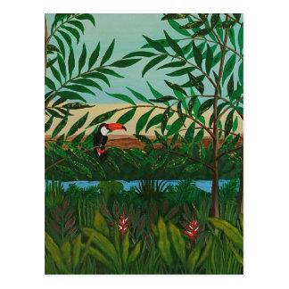 Conquistador's dream postcard