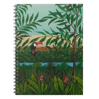 Conquistador's dream spiral notebook