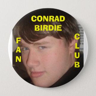 Conrad Birdie 4 Inch Round Button