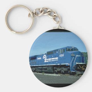 Conrail new GE widecab C40-B #6065_Trains Basic Round Button Keychain