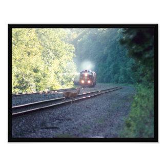 Conrail Office Car Train-OCS 8/22/97 Kodak Photographic Print