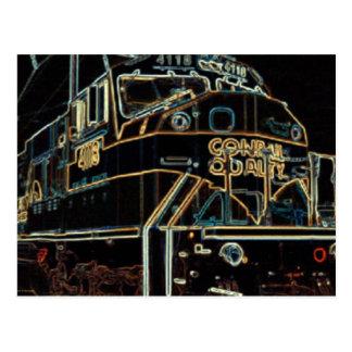 Conrail Quailty 1976 - 1999, SD-80MAC #4118 Postcard