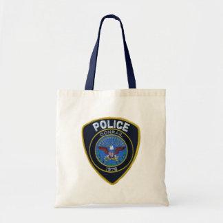 Conrail Railroad Police Patch Budget Tote Bag