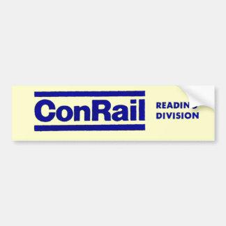 Conrail Reading Division 1976 Bumper Sticker
