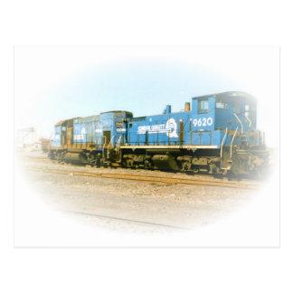 Conrail SW-1500 # 9620 and Conrail GP-15-1 # 1642 Postcard