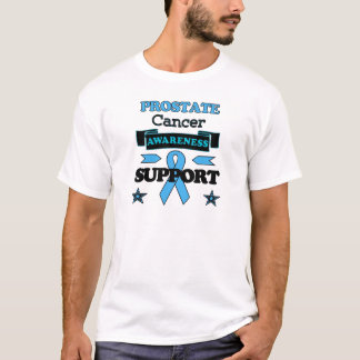 Conscience de cancer de la prostate t-shirt