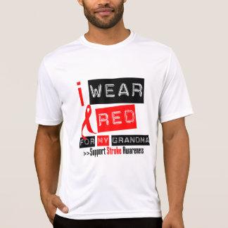 Conscience de course je porte le ruban rouge pour t-shirt