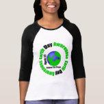 Conscience de jour de la terre - respectez notre t-shirt