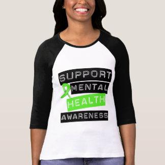 Conscience de santé mentale de soutien tee-shirts
