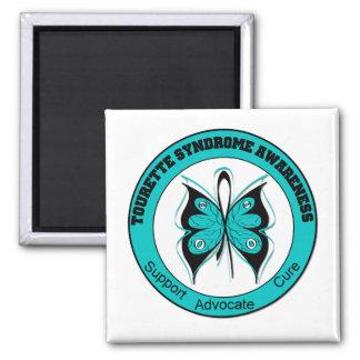 Conscience de syndrome de Tourette Magnets Pour Réfrigérateur