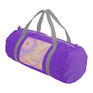 Consciousness Design Gym Bag lilac