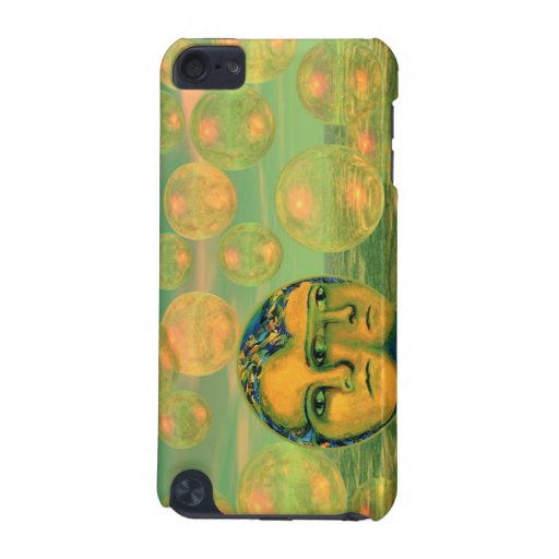 Consciousness – Gold and Green Awakening iPod Touch (5th Generation) Covers