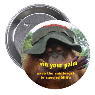 Conservation Activist for Animal Welfare 3 Inch Round Button
