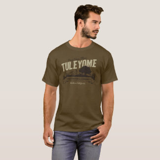 Conservation and Community, Men's Brown T-Shirt