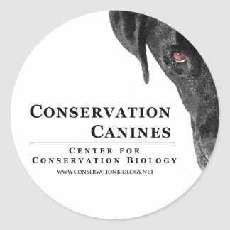 Conservation Canine Sticker