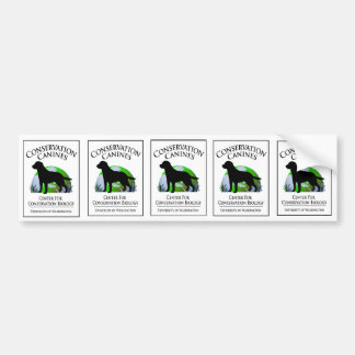 Conservation Canine sticker sheet