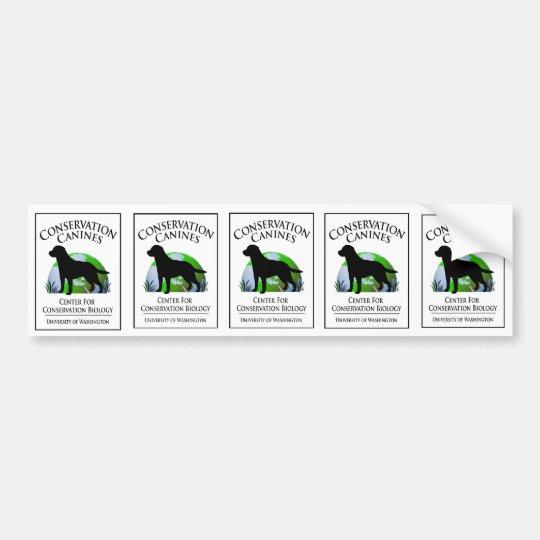 Conservation Canine sticker sheet
