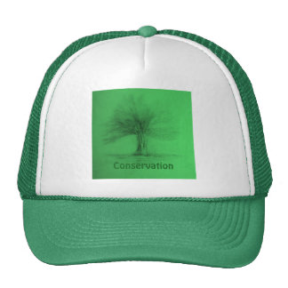 Conservation Green Trucker Hat