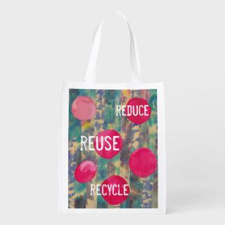 Conservation Message Grocery Bag