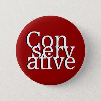 Conservative 2 Inch Round Button