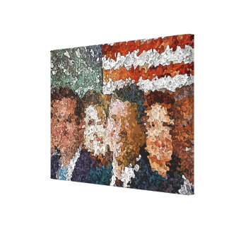 Conservative Americans Gallery Wrap Canvas