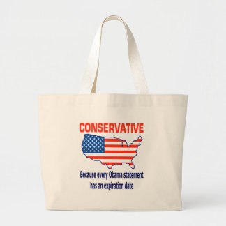 Conservative - Anti Obama Tote Bags