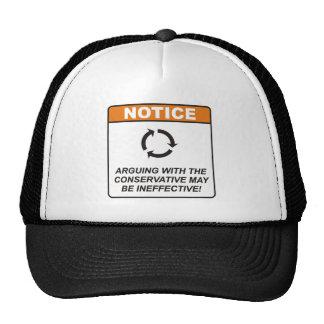 Conservative / Argue Hats