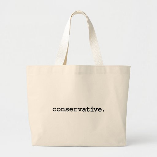 conservative. bags