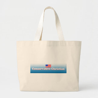 Conservative Christian Jumbo Tote Bag
