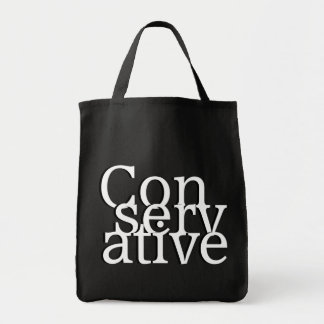 Conservative Grocery Tote Bag