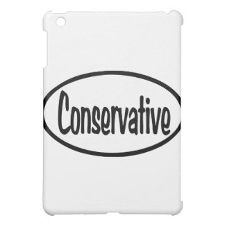 Conservative Oval iPad Mini Cases