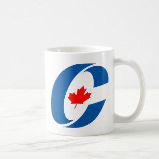 Conservative Party Canada Basic White Mug