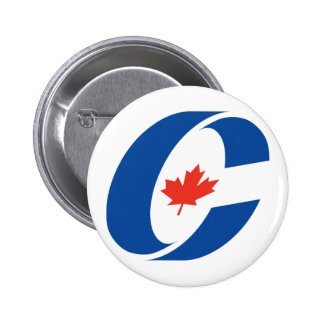 Conservative Party Logo 2 Inch Round Button