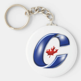 Conservative Party of Canada Political Merchandise Basic Round Button Keychain