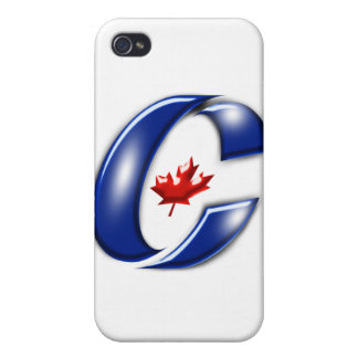 Conservative Party of Canada Political Merchandise Case For iPhone 4