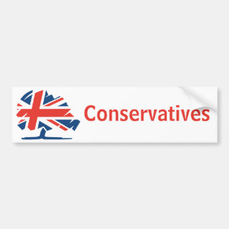 Conservative Party United Kingdom Bumper Sticker