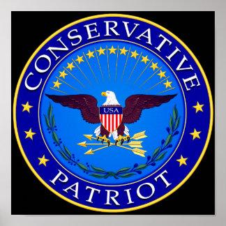 Conservative Patriot Poster