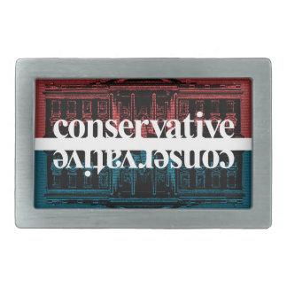 Conservative Rectangular Belt Buckles