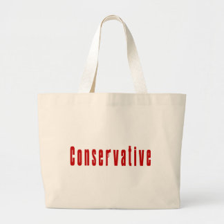 Conservative With A Gun Red Bag