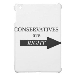Conservatives are RIght arrow iPad Mini Cases