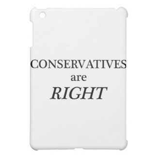 Conservatives are Right Case For The iPad Mini