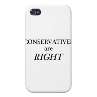 Conservatives are Right Covers For iPhone 4