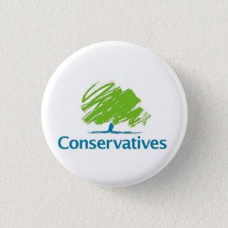 Conservatives Logo 1 Inch Round Button