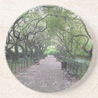 Conservatory Garden Central Park NYC Photography Coaster