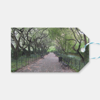 Conservatory Garden Central Park NYC Photography Gift Tags